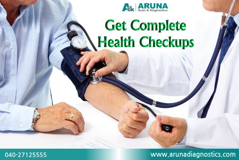 Health Tests offers in Aruna Scan & Diagnostics